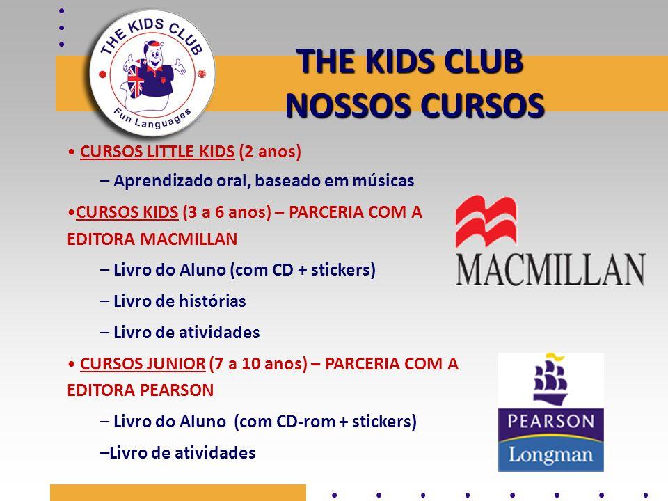 THE KIDS CLUB NOSSOS CURSOS