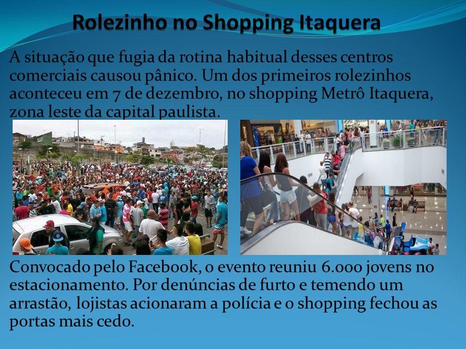 Rolezinho no Shopping Itaquera