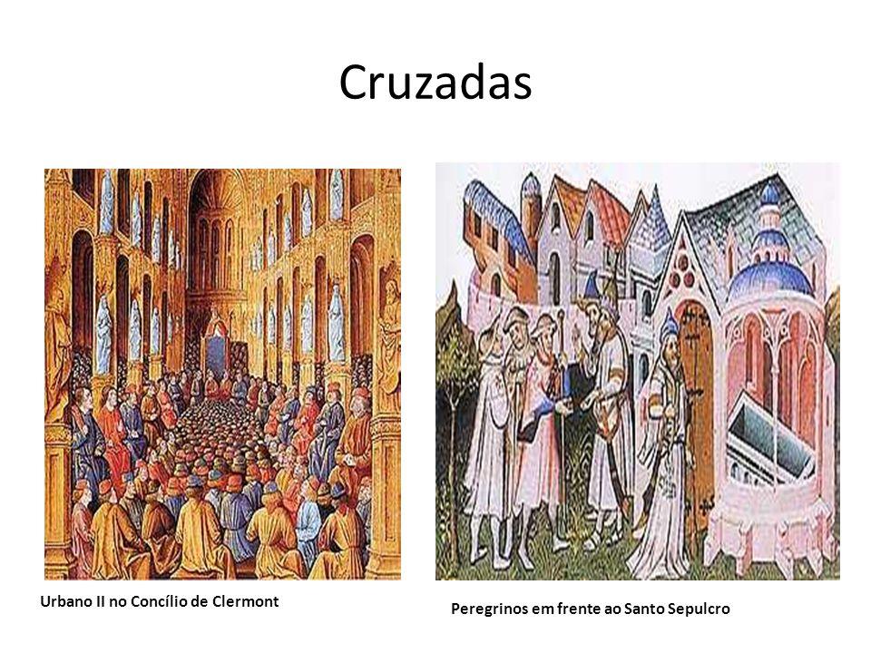 Cruzadas Urbano II no Concílio de Clermont