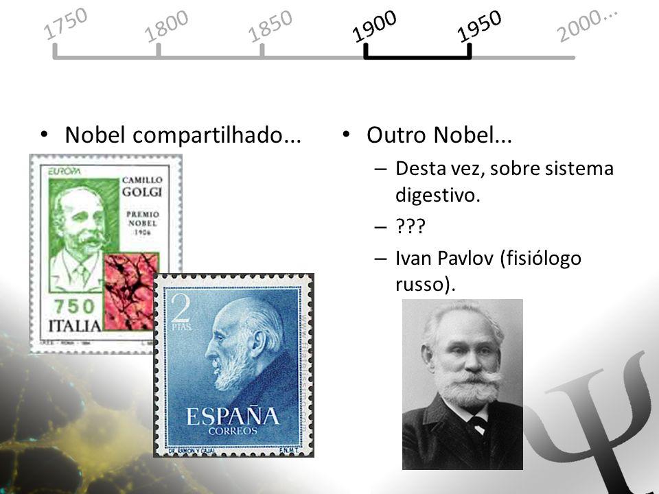 Nobel compartilhado... Outro Nobel...
