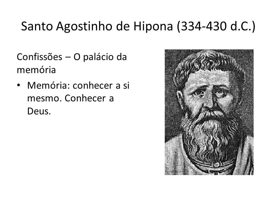 Santo Agostinho de Hipona (334-430 d.C.)