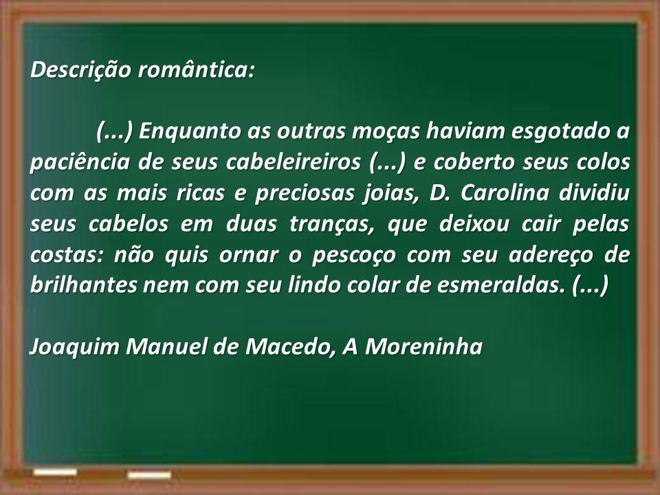 Descrição romântica: