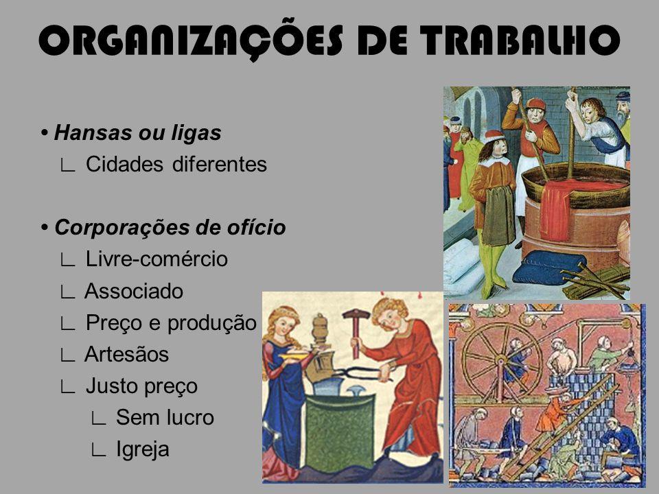 ORGANIZAÇÕES DE TRABALHO