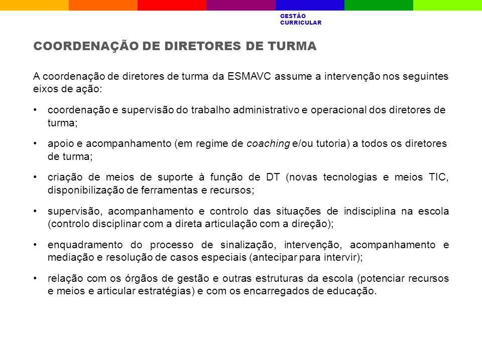 COORDENAÇÃO DE DIRETORES DE TURMA