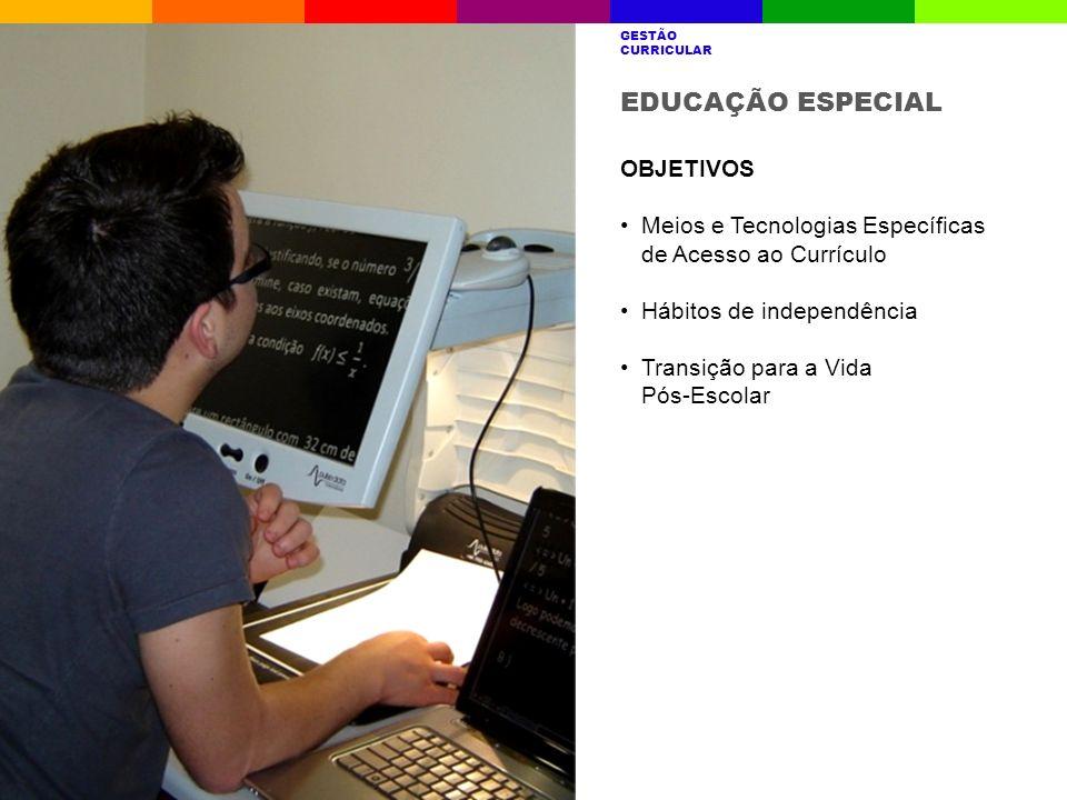 EDUCAÇÃO ESPECIAL OBJETIVOS