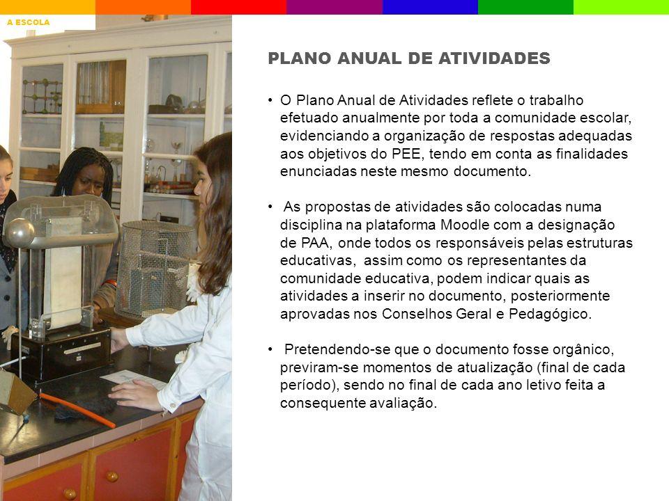 PLANO ANUAL DE ATIVIDADES