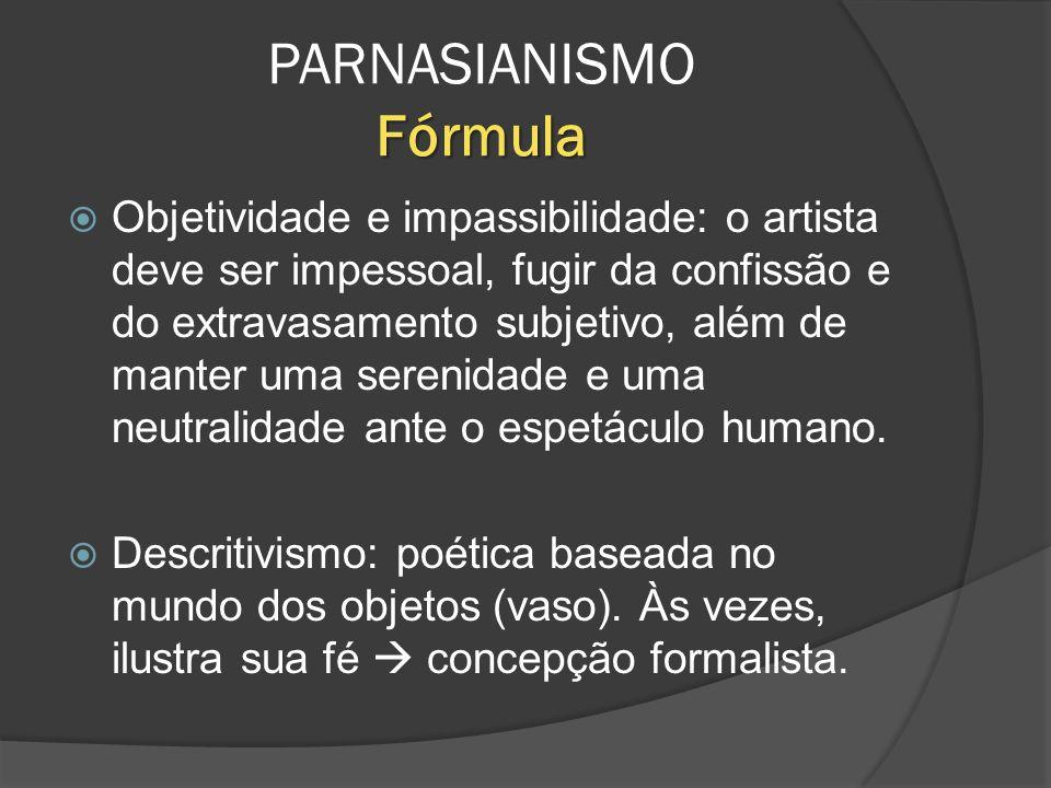 PARNASIANISMO Fórmula