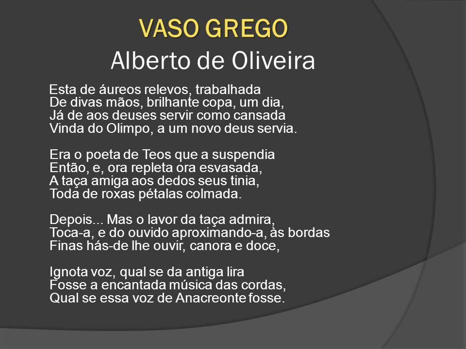 VASO GREGO Alberto de Oliveira