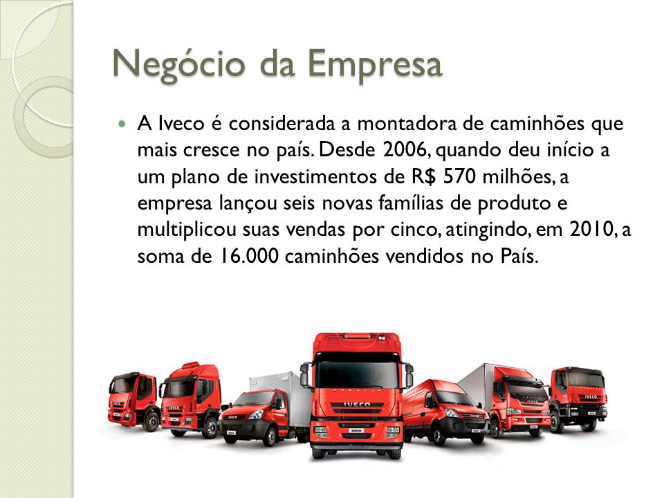 Negócio da Empresa
