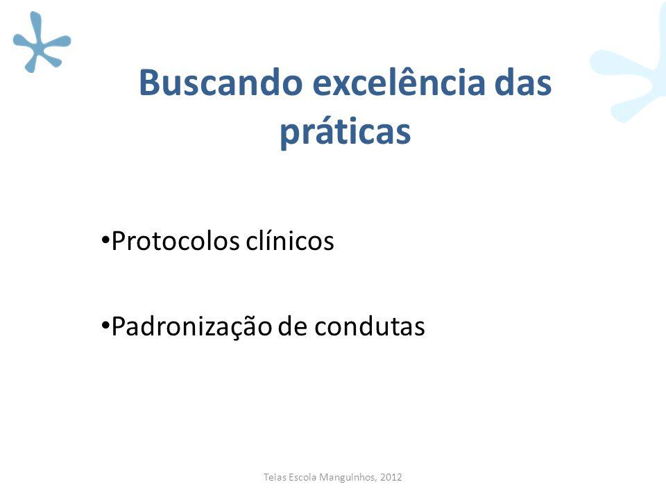Buscando excelência das práticas