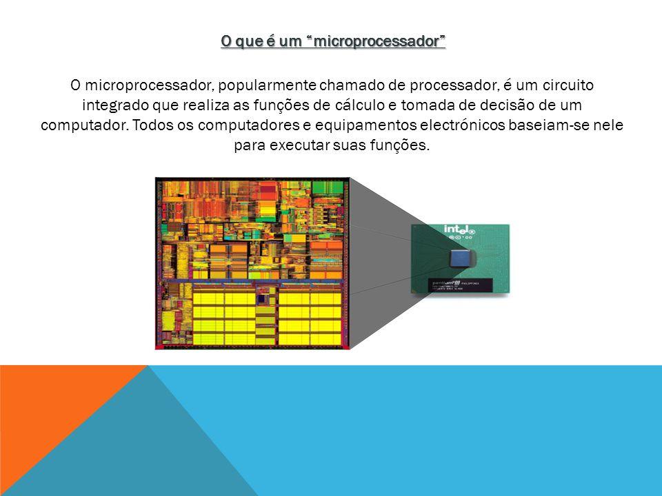O que é um microprocessador