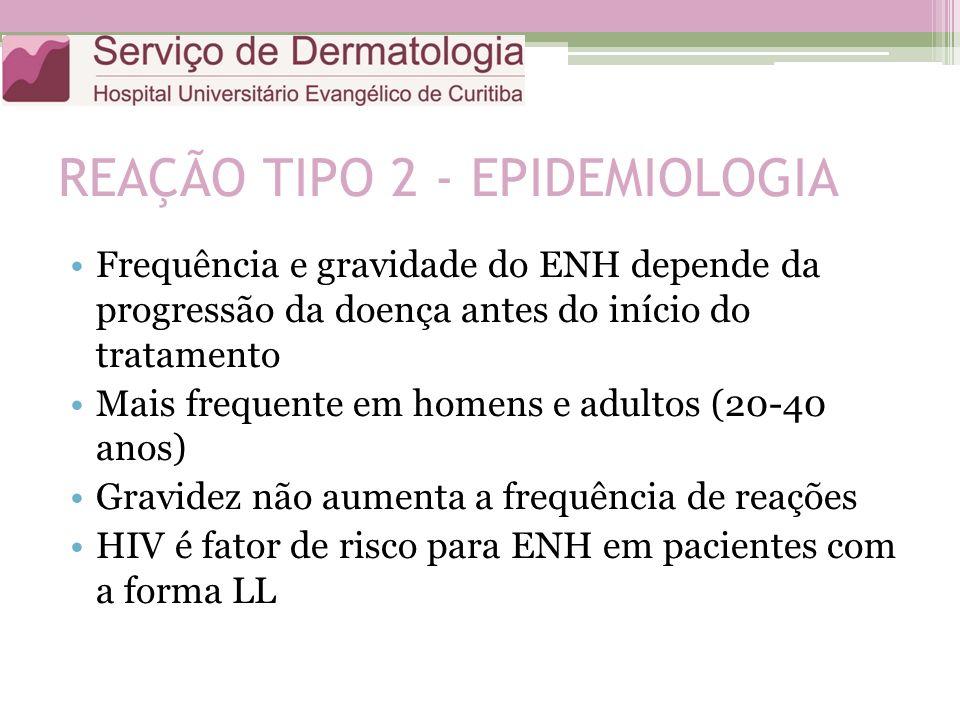 REAÇÃO TIPO 2 - EPIDEMIOLOGIA