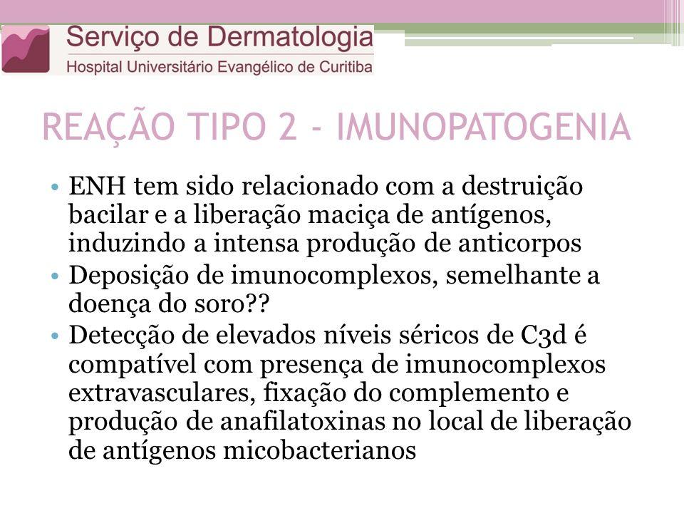 REAÇÃO TIPO 2 - IMUNOPATOGENIA