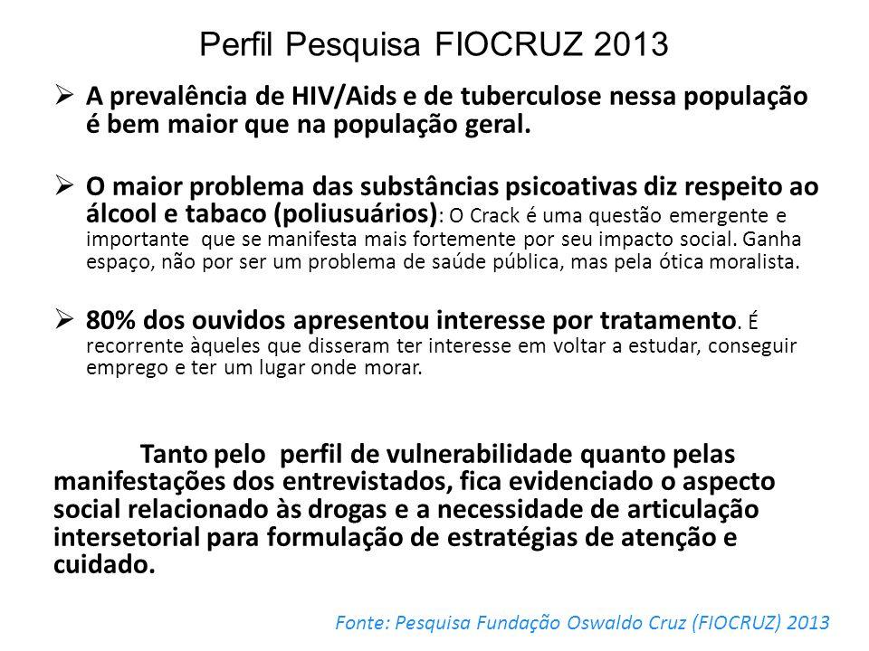 Perfil Pesquisa FIOCRUZ 2013