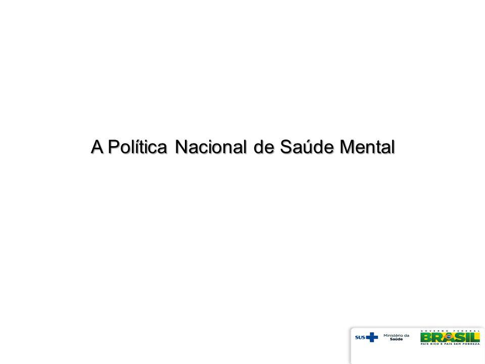A Política Nacional de Saúde Mental