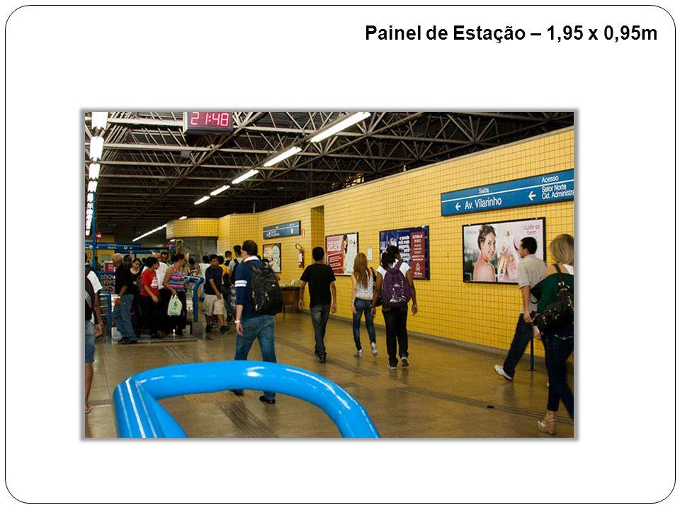 Painel de Estação – 1,95 x 0,95m