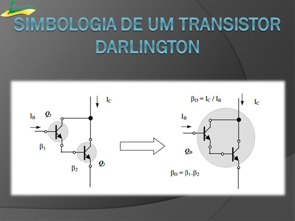 simbologia de um transistor darlington