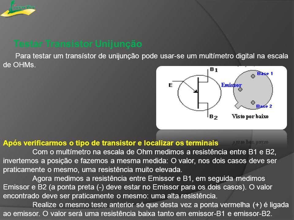 Testar Transistor Unijunção