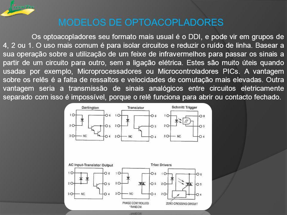 MODELOS DE OPTOACOPLADORES