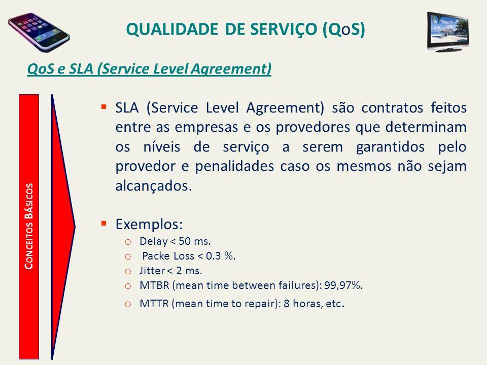 QoS e SLA (Service Level Agreement)