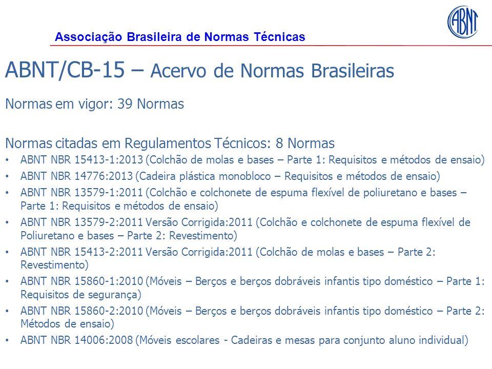 ABNT/CB-15 – Acervo de Normas Brasileiras