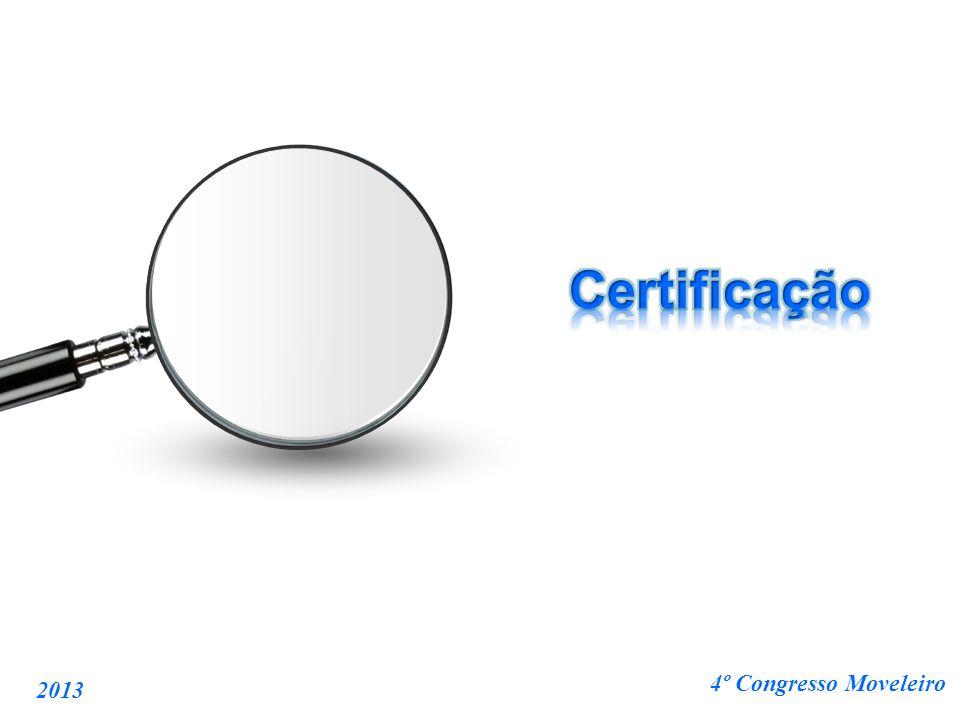 Certificação 2013 4º Congresso Moveleiro