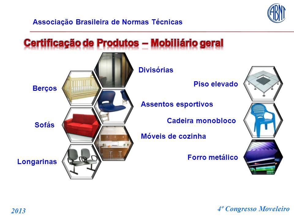 Certificação de Produtos – Mobiliário geral