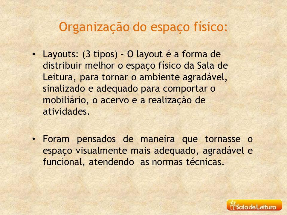 Organização do espaço físico: