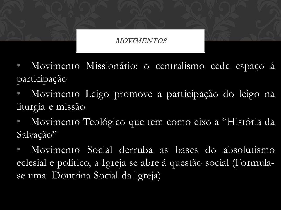 Movimento Missionário: o centralismo cede espaço á participação