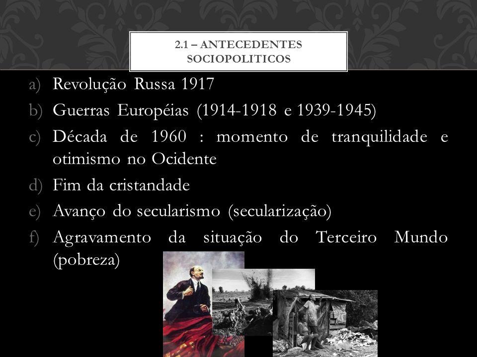 2.1 – antecedentes sociopoliticos