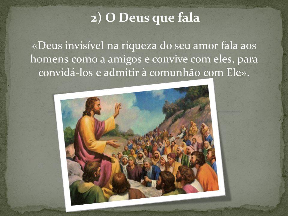 2) O Deus que fala