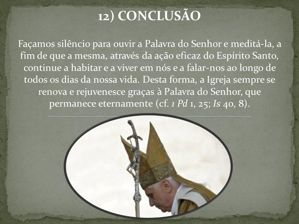 12) CONCLUSÃO