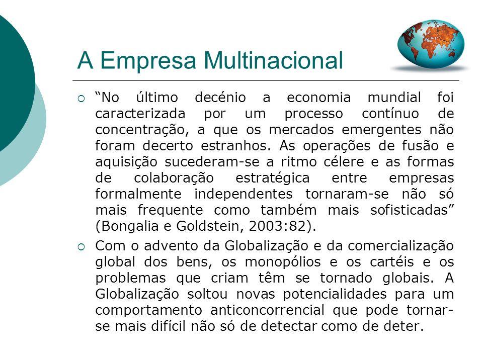 A Empresa Multinacional