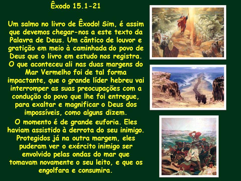 Êxodo 15.1-21