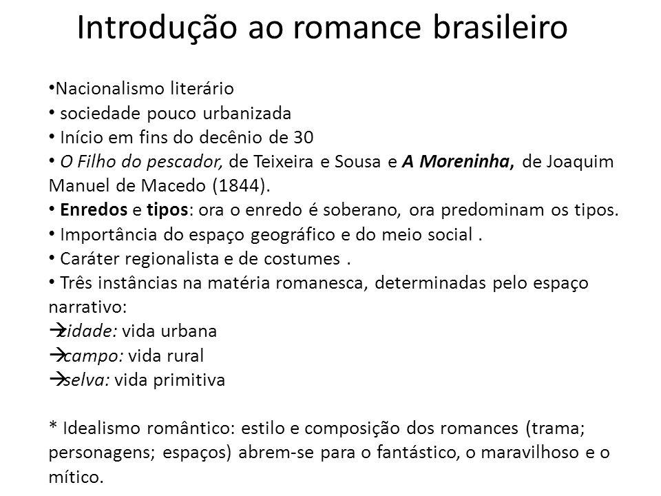 Introdução ao romance brasileiro