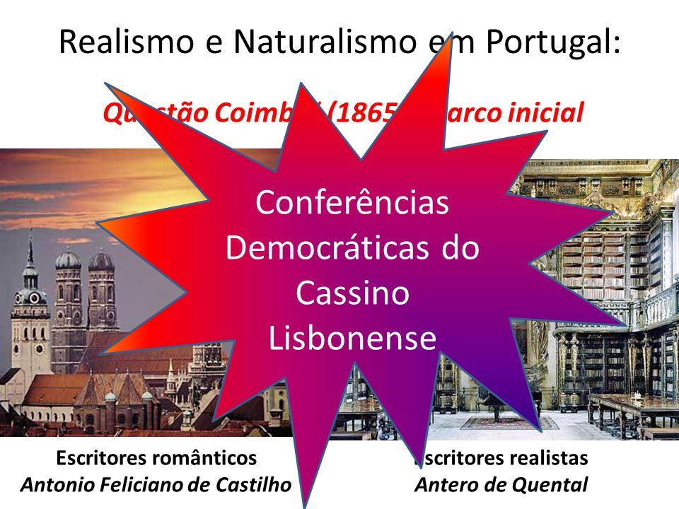 Realismo e Naturalismo em Portugal: