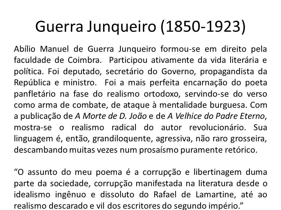 Guerra Junqueiro (1850-1923)