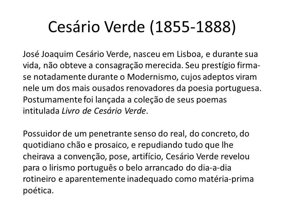 Cesário Verde (1855-1888)