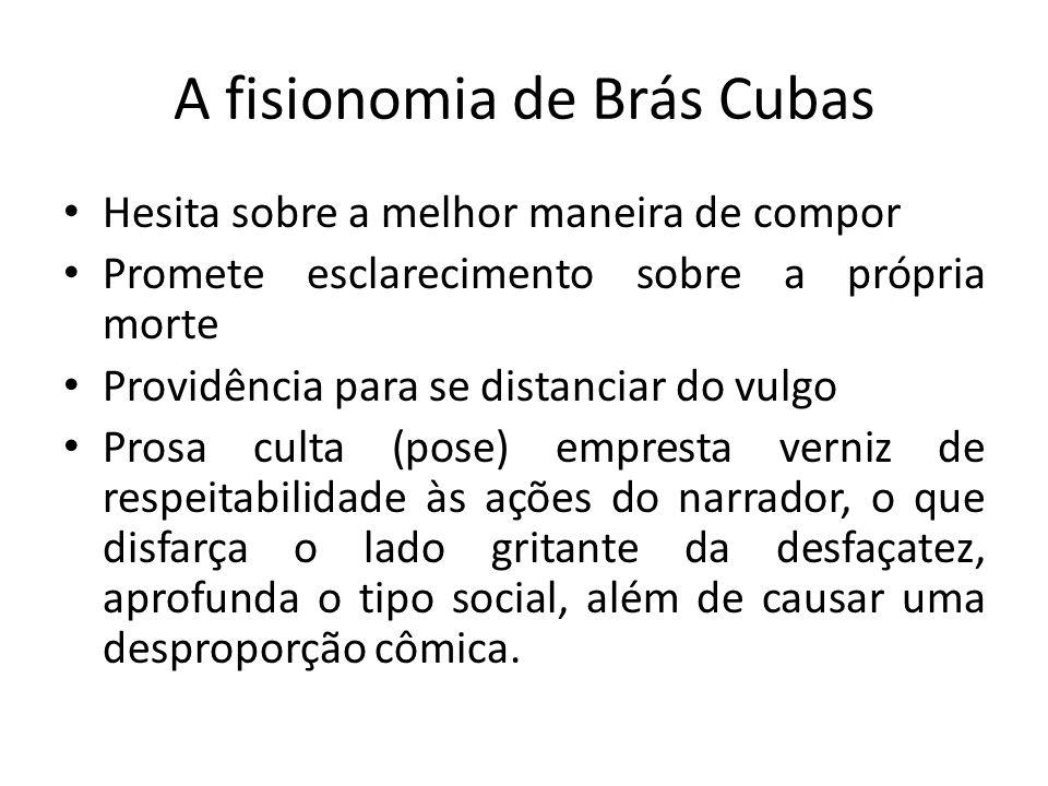 A fisionomia de Brás Cubas