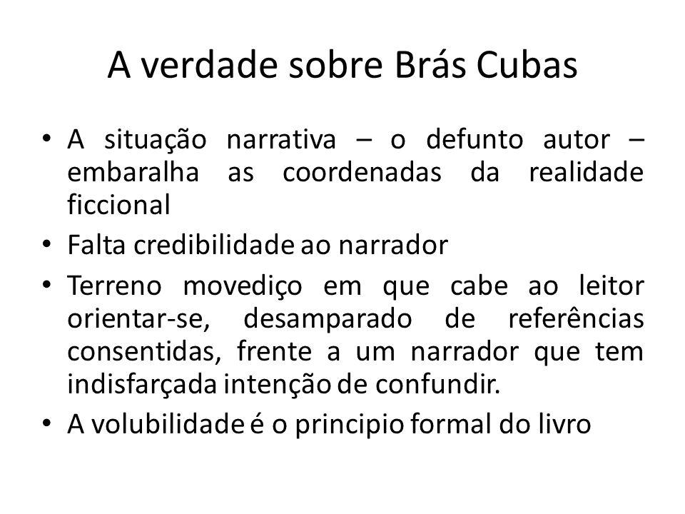 A verdade sobre Brás Cubas