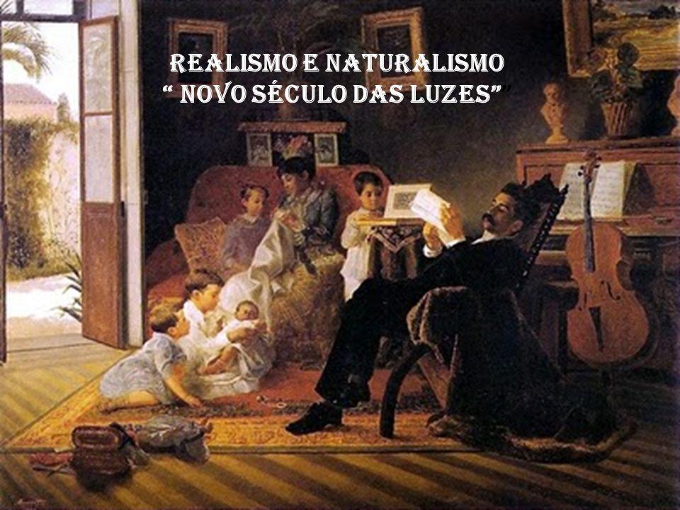 Realismo e Naturalismo novo século das luzes