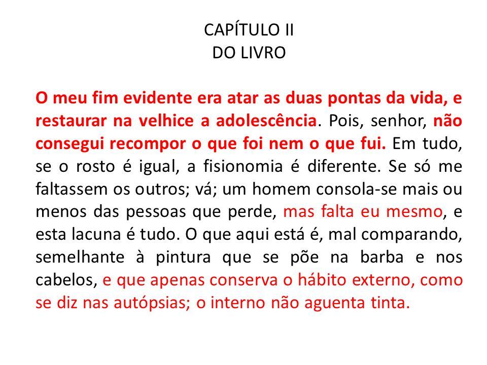 CAPÍTULO II DO LIVRO.