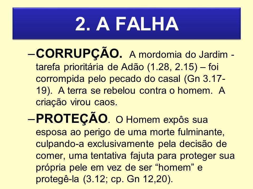 2. A FALHA