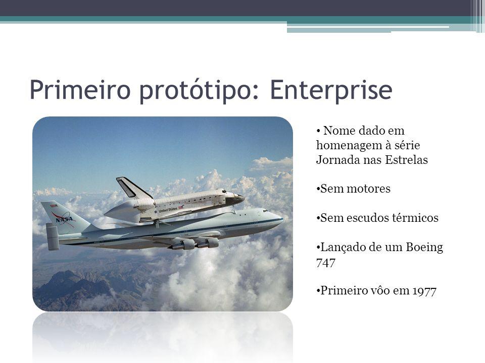 Primeiro protótipo: Enterprise