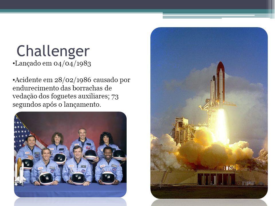 Challenger Lançado em 04/04/1983