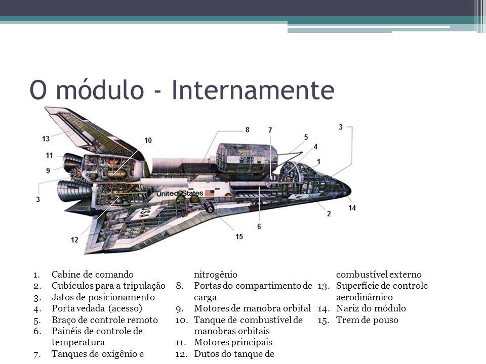 O módulo - Internamente
