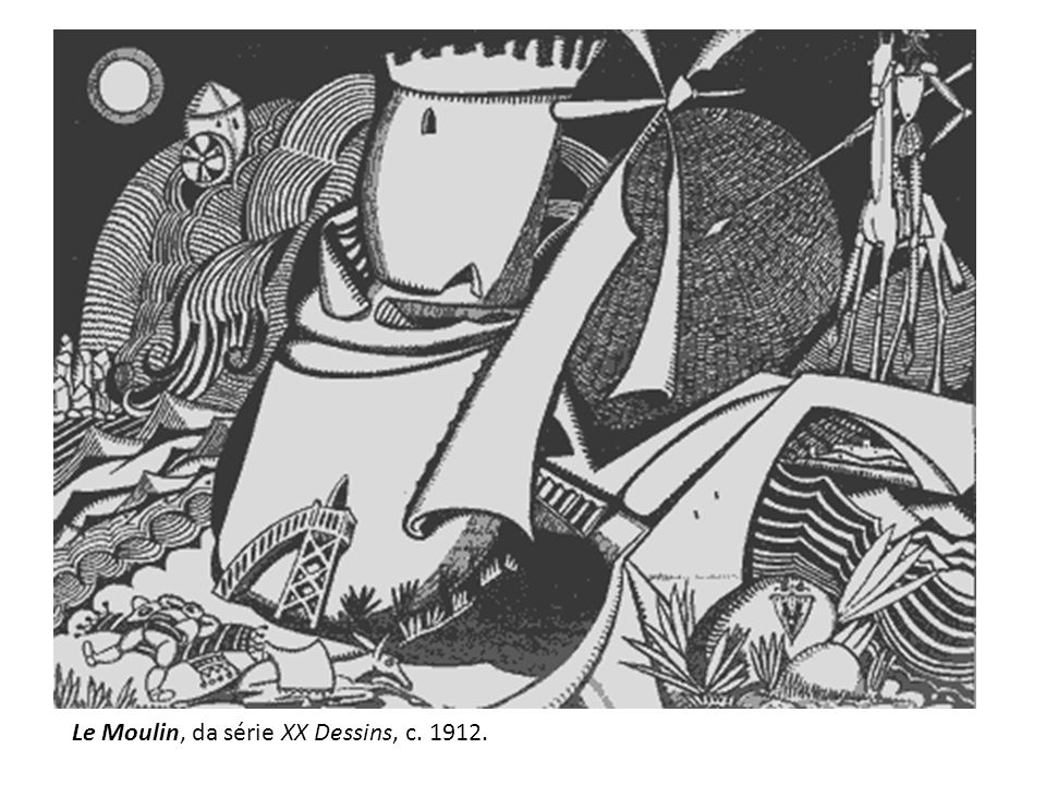 Le Moulin, da série XX Dessins, c. 1912.