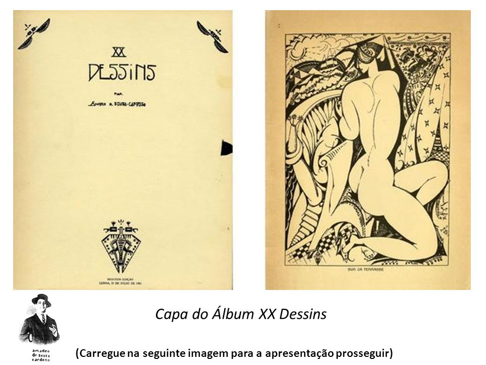 Capa do Álbum XX Dessins