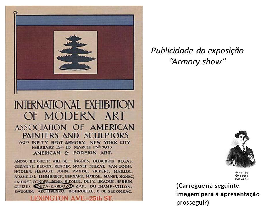 Publicidade da exposição Armory show