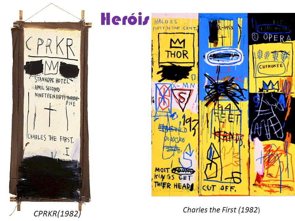 Heróis Charles the First (1982) CPRKR(1982)